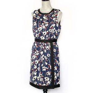 Ann Taylor Faux Wrap Sheath Dress SZ 4